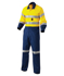 Picture of King Gee-K51525-Hi-Vis Reflective Spliced Combination Drill Overall