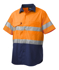 Picture of King Gee-K54885-Workcool 2 Reflective Spliced Shirt S/S