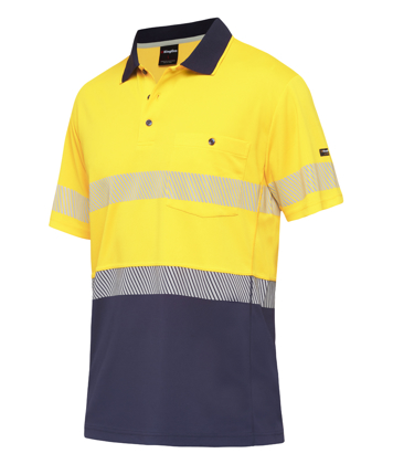 Picture of King Gee-K54215-Workcool Hyperfreeze Spliced Taped Polo S/S