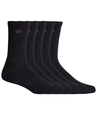 Picture of King Gee-K09035-Crew Sock 5 Pack