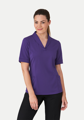 Picture of City Collection-2230-CityHealth® Active Short Sleeve Blouse