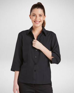 Picture of Corporate Reflection-6301Q19-Climate Smart Ladies Semi Fit 3/4 Sleeve shirt