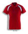 Picture of Bocini-CP0919-Team Essentials-Men's Short Sleeve Contrast Panel Polo