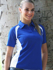 Picture of Bocini-CP0929-Team Essential-Ladies Short Sleeve Contrast Panel Polo