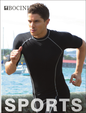 Picture of Bocini-CT0982-Performance Wear -Men's S/S Performance Top
