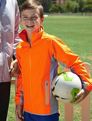 Picture of Bocini-CJ1471-Kids Reflective Wet Weather Jacket