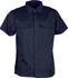 Picture of Bocini-WS0679-Unisex Adults Cotton Drill Work Shirt S/S