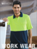 Picture of Bocini-SP0427-Unisex Adults Hi-Vis Safety Polo - Short Sleeve