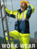 Picture of Bocini-SJ0642-Unisex Adults Hi-Vis 3 In 1 Jacket With Reflective tape
