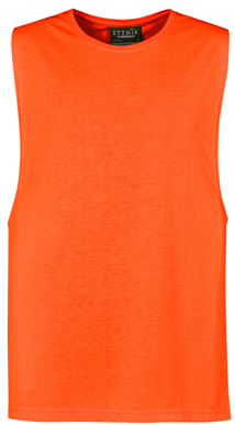 Picture of Syzmik-ZH297-Mens His Vis Sleeveless Tee