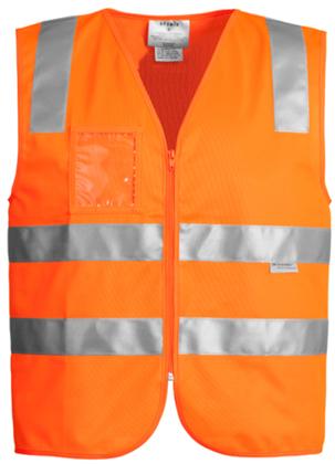 Picture of Syzmik-ZV998-Unisex Hi Vis Full Zip Vest