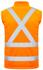 Picture of Syzmik-ZJ680-Unisex Hi Vis  2 in 1 X Back Soft Shell Jacket