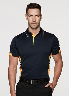 Picture of Aussie Pacific - 1311-Tasman Mens Polo Shirts