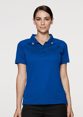Picture of Aussie Pacific - 2308-Flinders Ladies Polo Shirts