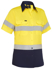 Picture of Bisley Workwear-BL1896-Women's Taped Hi Vis Cool Lightweight Drill Shirt