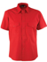 Picture of Identitee-W06(Identitee)-Mens Short Sleeve Ultra Cool Shirt with Twin Pockets
