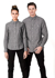 Picture of Identitee-W71(Identitee)-Men's Long Sleeve Linen Cotton Shirt