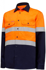 Picture of Hardyakka-Y04610-HIVIS LONG SLEEVE 2 TONE COTTON DRILL SHIRT WITH TAPE